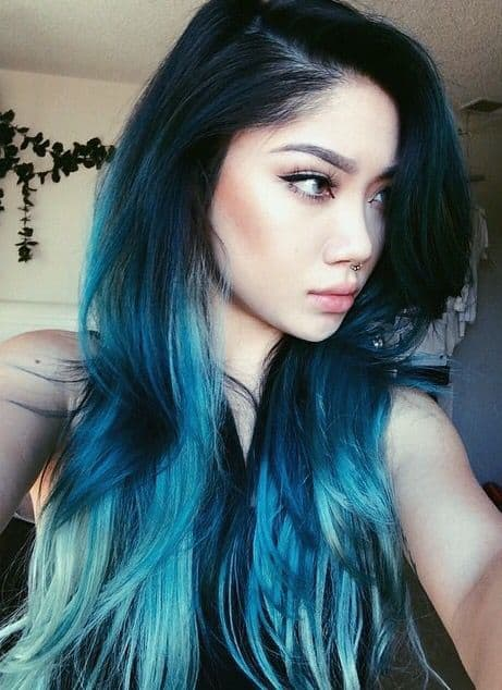 60 Beautiful Blue And Purple Hair Color