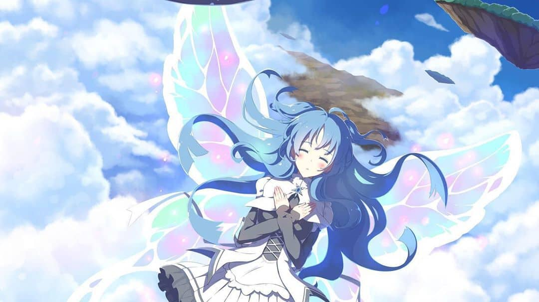 15 Funky Anime Girls With Blue Hair 2020 Hairstylecamp