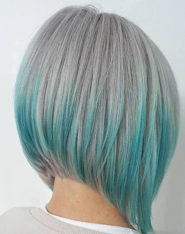 21 Sumptuous Blue Hair Highlights For Women Hairstylecamp
