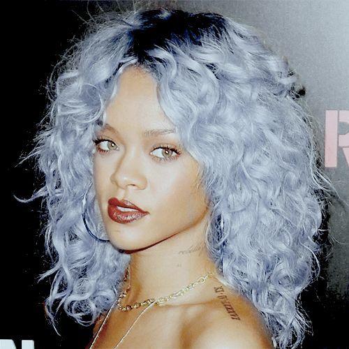 blue hair pastel