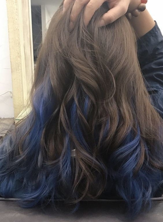 21 Sumptuous Blue Hair Highlights For