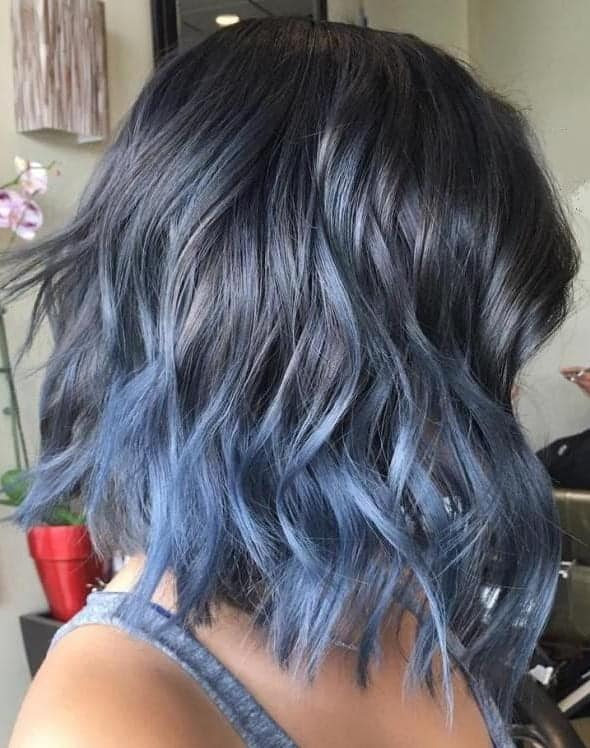 The Hottest Blue Ombre Hairstyles For Short Hair