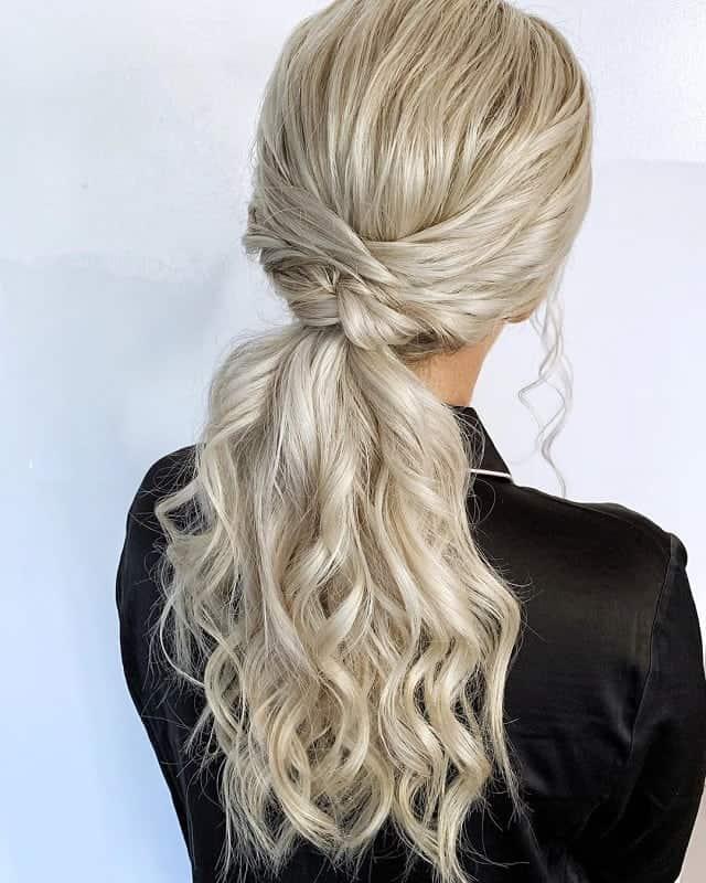 boho ponytail