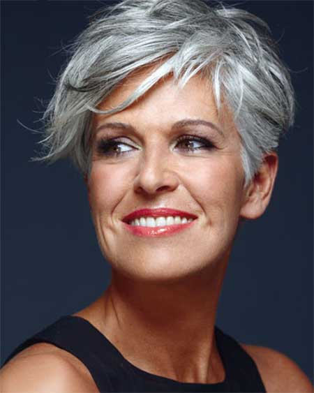 30 Modern Short Grey Hair For Trendy Girls Hairstylecamp