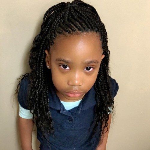 27 Gorgeous Box Braids for Kids in 2020 \u2013 HairstyleCamp