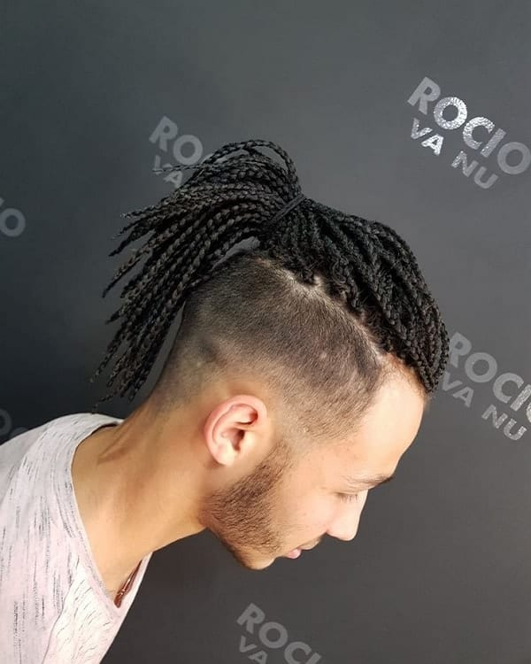 The Best Box Braids for Men With Hair Extensions \u2013 HairstyleCamp