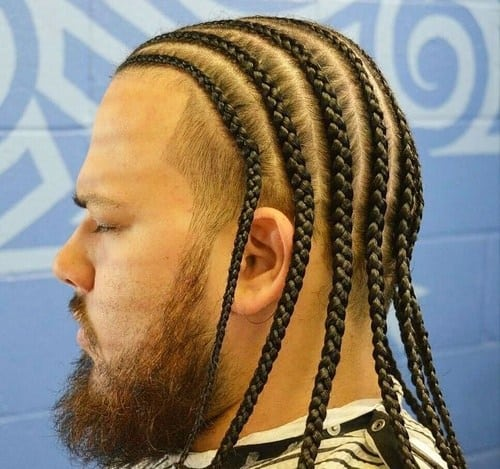 The Best Box Braids For Men With Hair Extensions