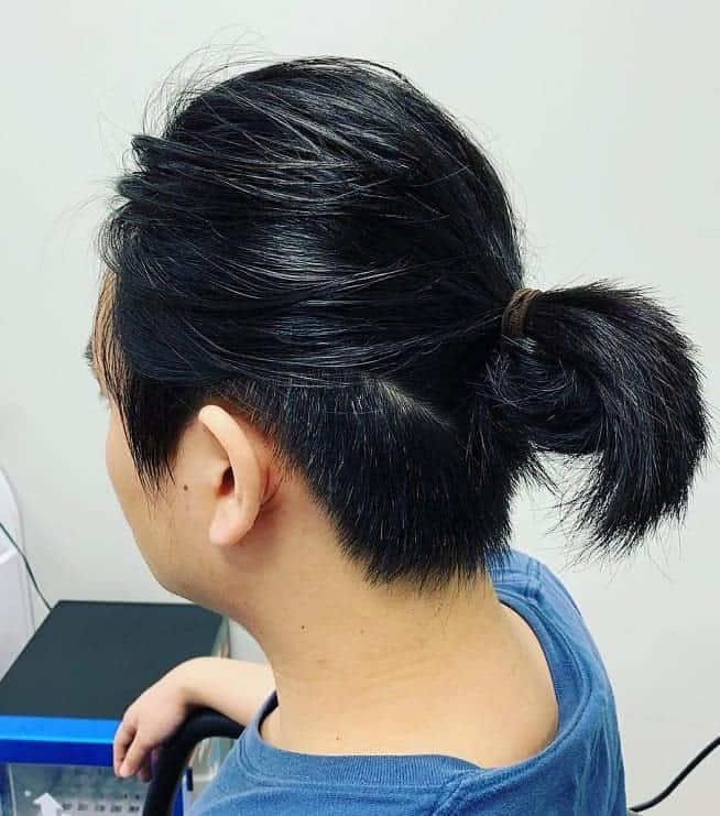 10 Outlandish Ponytail Hairstyles For Boys To Try Right Now