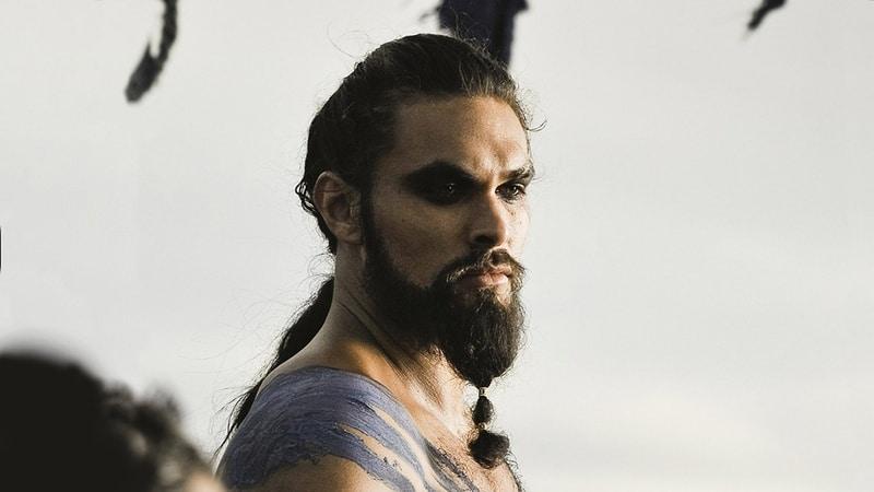 Braided Beard Style By Khal Drogo