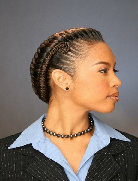 23 Exotic Braided Bun Hairstyles For Black Hair