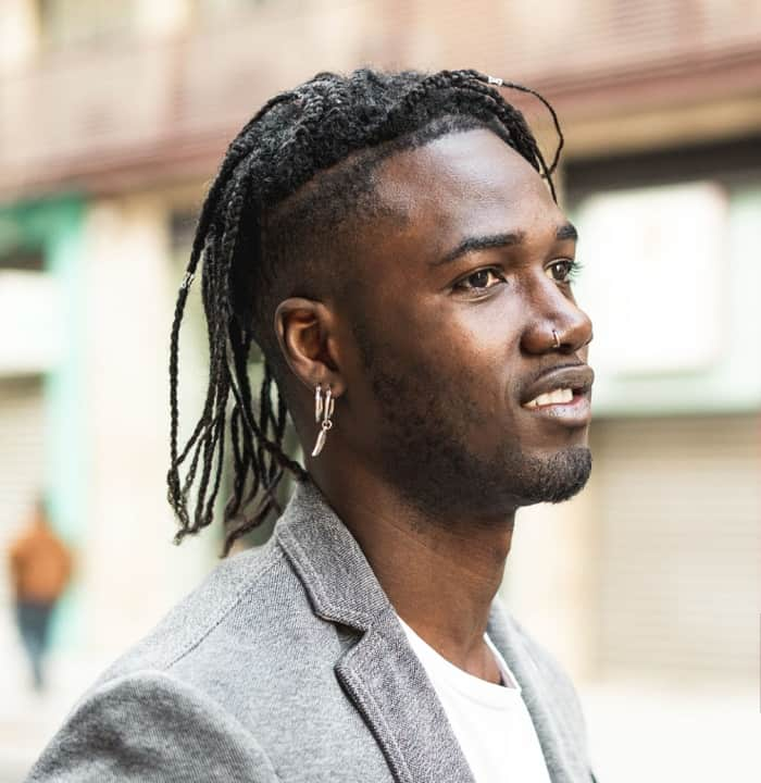 30 Great Braided Hairstyle Ideas For Black Men 2021