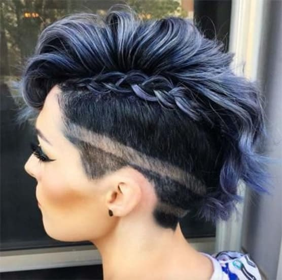 7 Of The Boldest Mohawk Braids With Shaved Sides Hairstylecamp