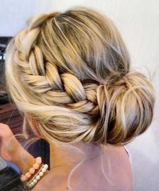 best Chignon hairstyles braid updo hairstyle you like