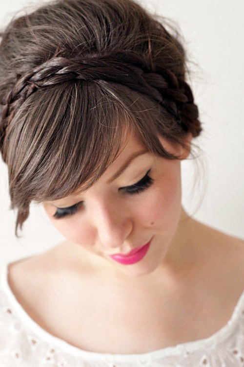 Headband Braid updos hairstyle your favorite