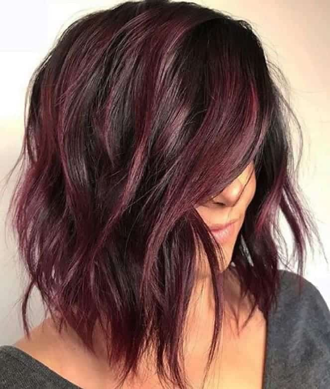 12 Burgundy Maroon Ombre Hairstyles That Scream Wao