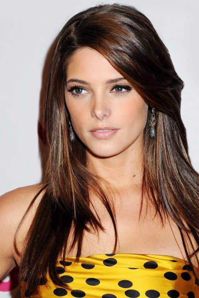 10 alluring side bangs on long hair 2017 hairstylecamp layered hair with side bangs urmus Images