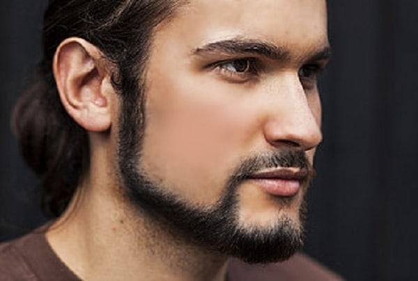 Chin Curtain beard idea for men