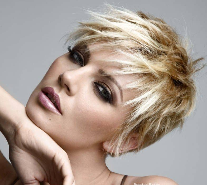 10 Fun Flirty Choppy Pixie Cuts Hairstylecamp