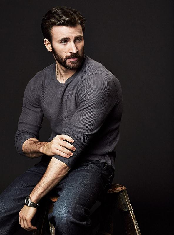 how to get chris evans beard the right way � hairstyle camp