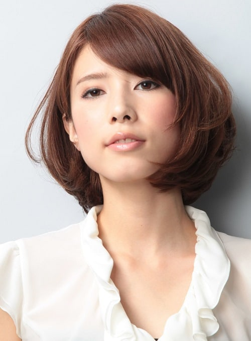Top 10 Japanese Haircuts And Styles Short Curly And Bun