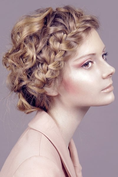 Curly locks hairstyle you like