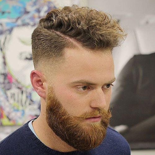 7 of The Best Comb Over Haircuts for Curly Hair