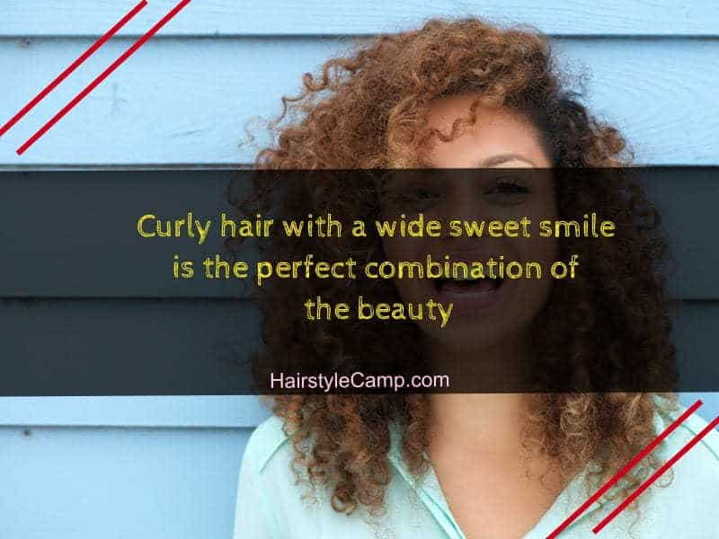 35 Fresh Curly Hair Quotes Captions For 2020