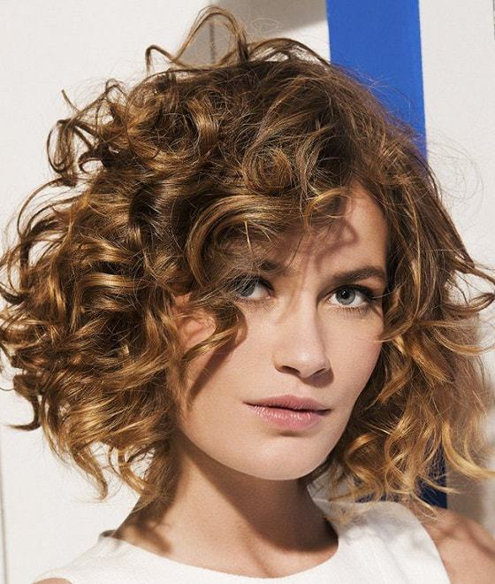52 Super Cute Short Curly Hairstyles For Women Hairstylecamp