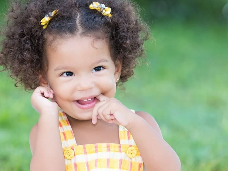 21 Of The Cutest Curly Hairstyles For Kids Hairstylecamp