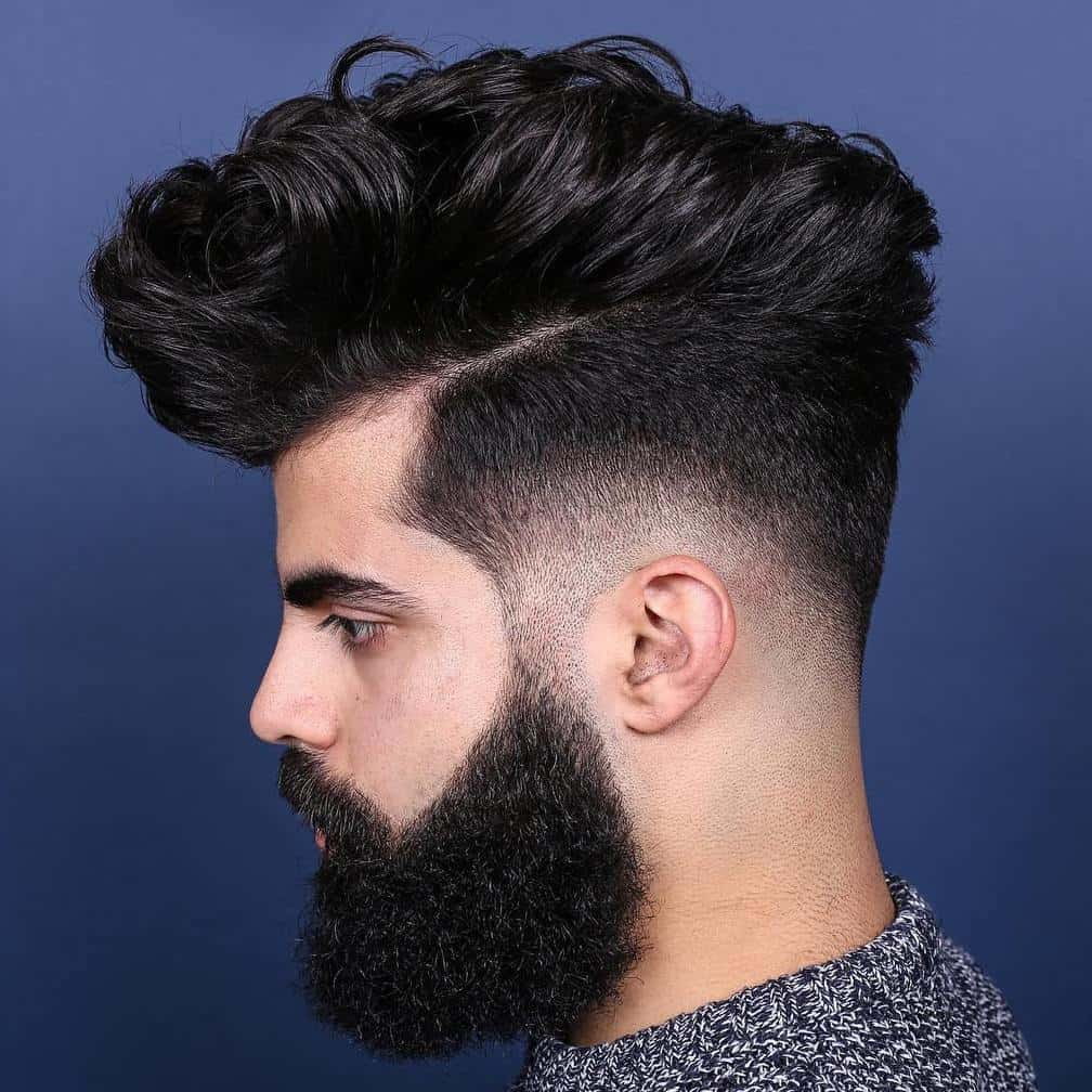 12 Amazing High Top Fade Styles For Curly Hair