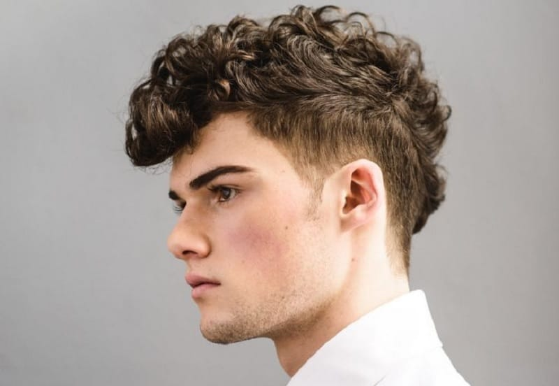 25 Curly Undercut Hairstyles for Men to Rock This Season