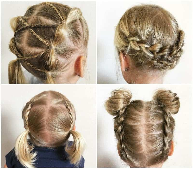 Pleasing 35 Cute Little Girl Updos Thatll Steal The Show Hairstylecamp Schematic Wiring Diagrams Amerangerunnerswayorg