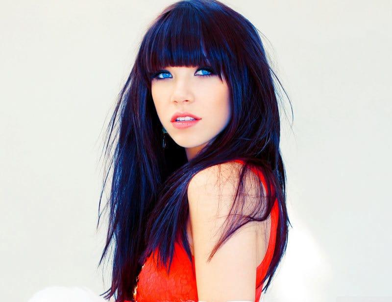 dark blue hairstyle ideas