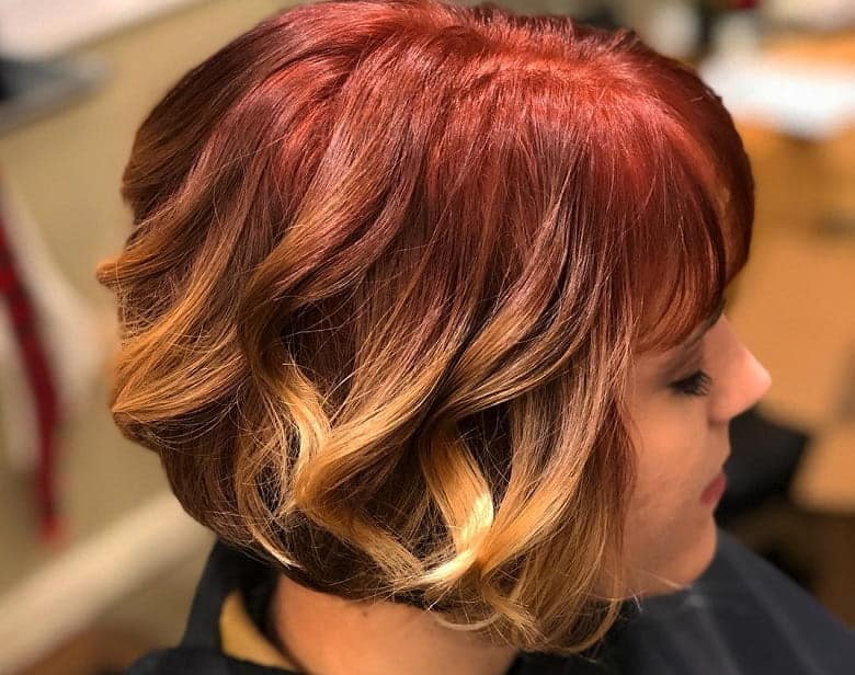 10 Hypnotic Short Hairstyles With Dark Ombre For Las