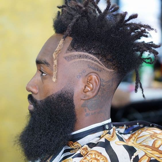 7 Unique Dreadlock Hairstyles With Mohawk Fade