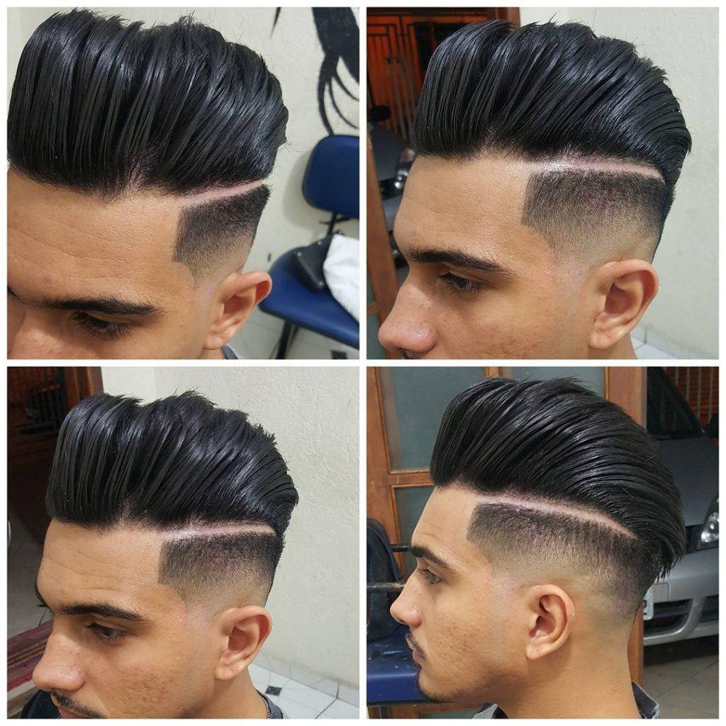 edge haircut pobpadour