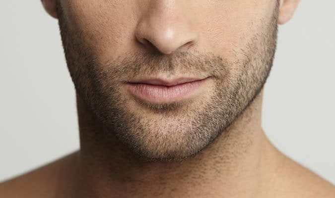 Stubble beard for men