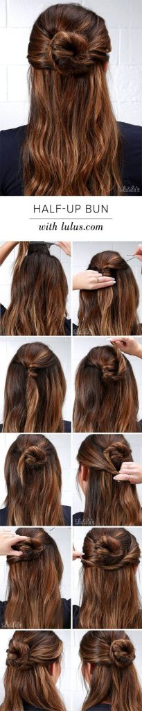 8 Perfect Half Up Half Down Ponytail For Every Occasion