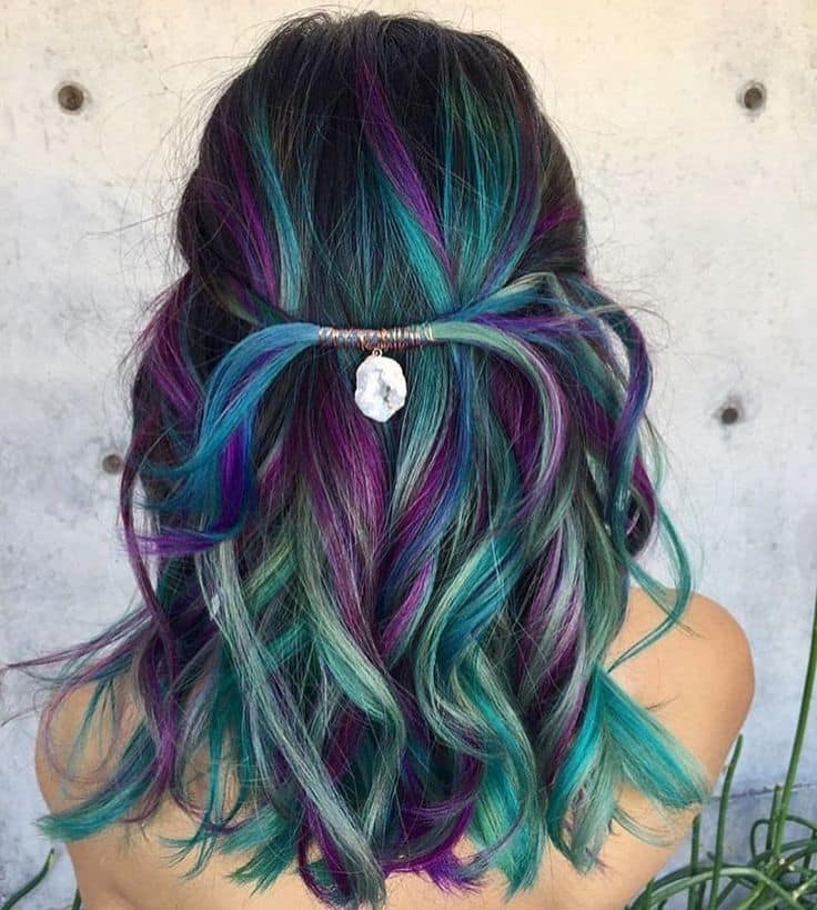 23 Mermaid Hair Colors That Are Better Than Ariels Hairstylecamp