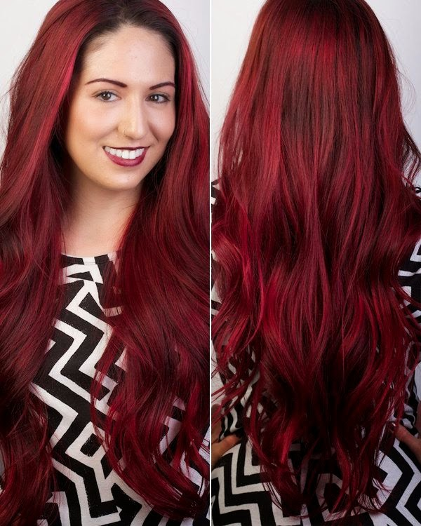 20 Bright Winter Hair Color Ideas To Warm You Up Hairstylecamp