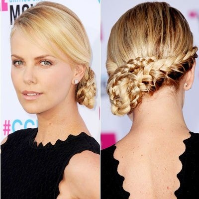 nice look Asymmetrical braid hair for women