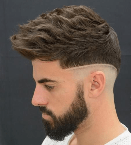 These Are The Faux Hawk Or Fohawk Fade Hairstyles With Little Variations.  You Can Apply Any One Of These Styles Which Suits Your Facial Shape And  Hair ...