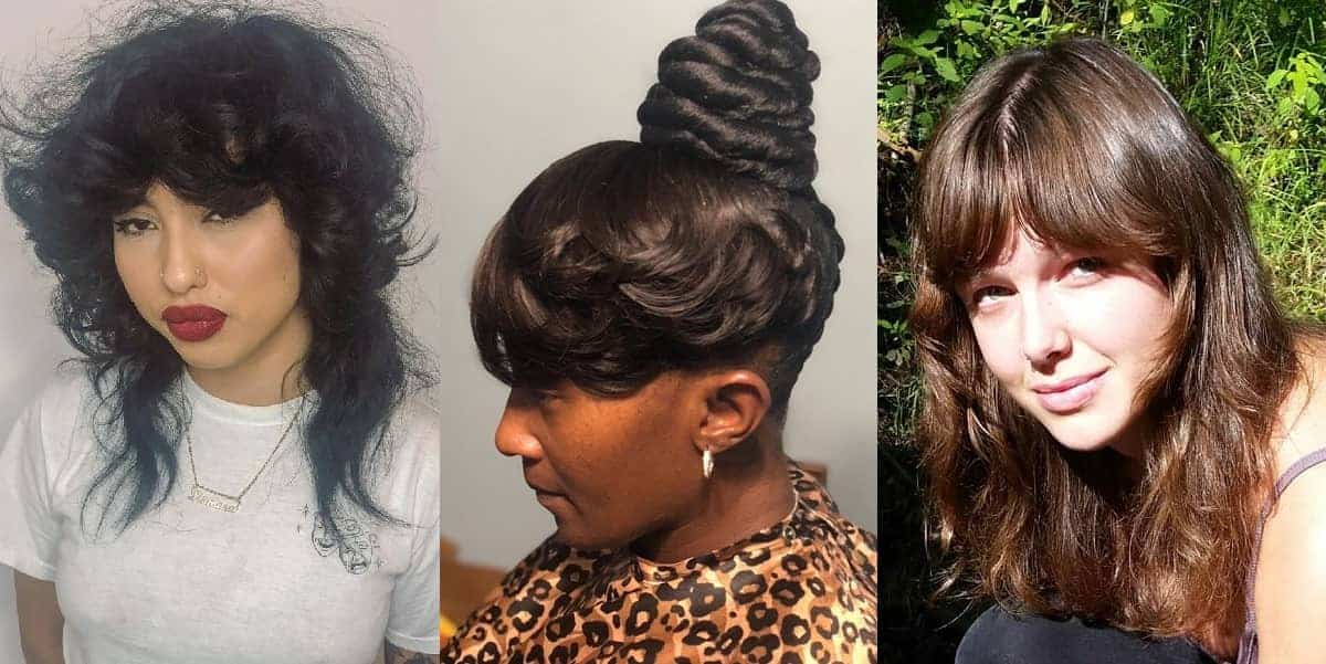 feathered bangs for ladies