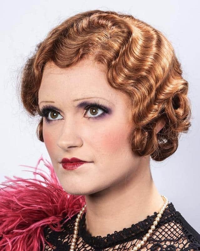 30 Top Flapper Girl Finger Wave Hairstyle Ideas [July. 2019]