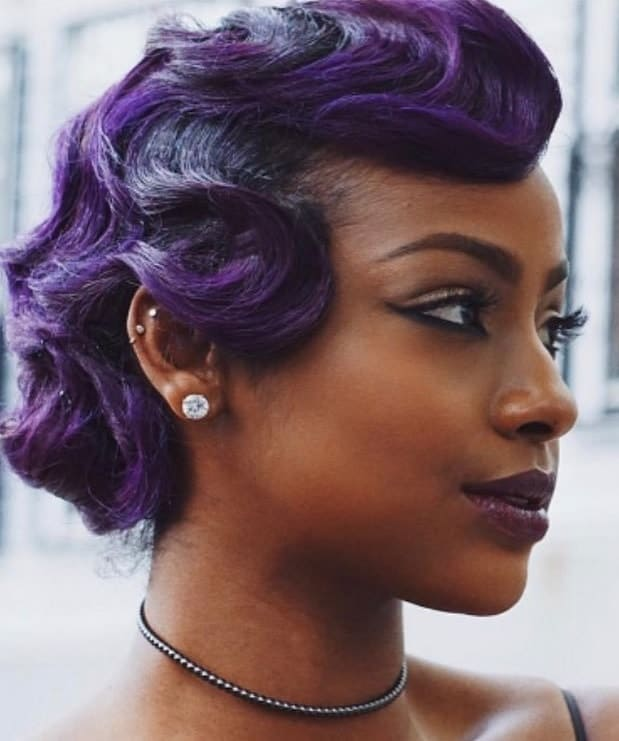 6 Finger Waves Hairstyles For Black Women To Rock Hairstylecamp