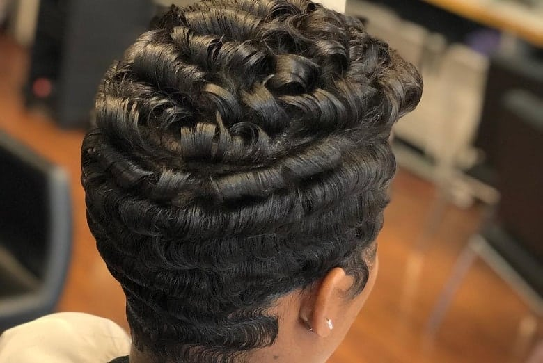 6 Finger Waves Hairstyles For Black Women To Rock