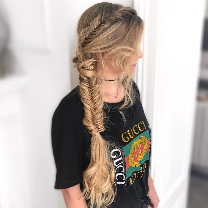 Incredible 85 Hottest Fishtail Braid Hairstyles For Women Natural Hairstyles Runnerswayorg