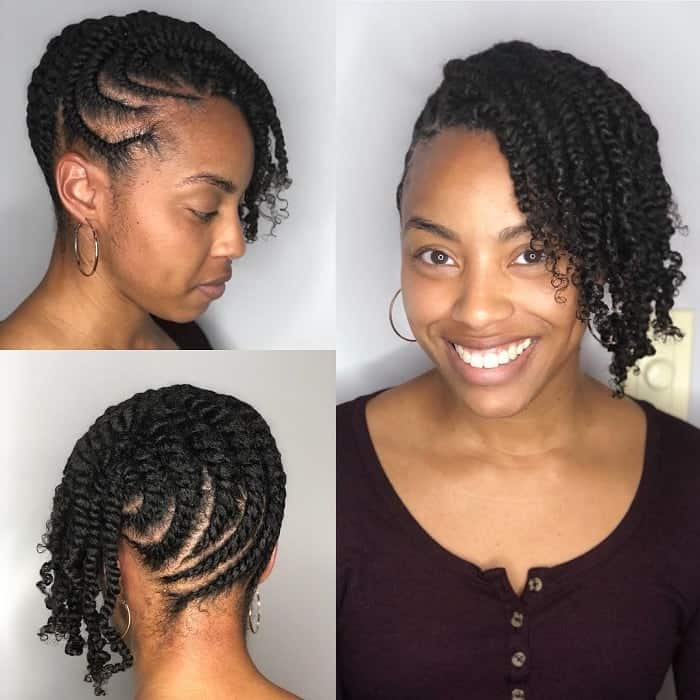 How To Flat Twist Natural Hair 21 Styling Ideas