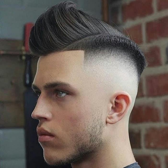 Excellent Fohawk Taper Fade Hairstyle Men Schematic Wiring Diagrams Amerangerunnerswayorg