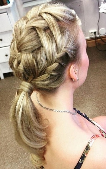 40 Killer French Braid Ponytails You Can T Miss In 2020